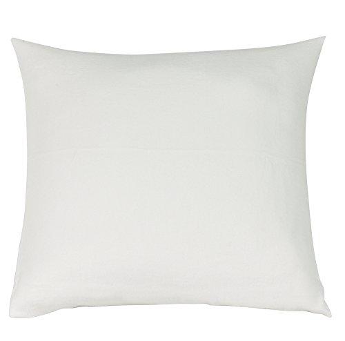 Blanc des Vosges Molleton 200gr/m² thermoregulant Polochon, Coton, Blanc, 40x160 cm