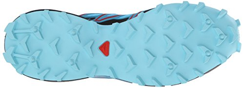 Salomon Speedcross 3, Scarpe da Trail Running Donna, Taglia Unica Blu (Blau (Azurin Blue/Fog Blue/Radiant Red))