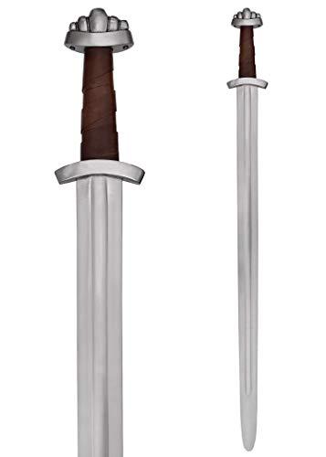 Battle-Merchant Wikingerschwert mit Scheide, 10. Jh. für Schaukampf - Schaukampfschwert SK-B Wikinger-Schwert Mittelalter echt ()