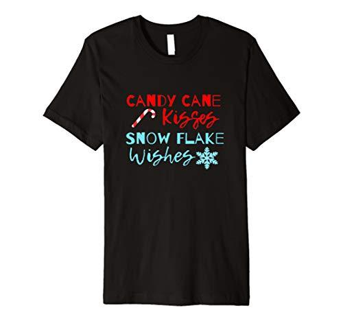 (Cute Christmas Zitat Shirt Candy Cane Snow Flake TShirt)