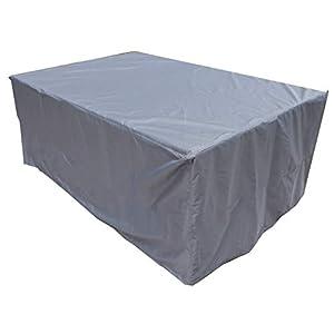 KaufPirat Premium Abdeckplane 220x110x75 cm Gartenmöbel Gartentisch Hülle Abdeckung Haube Schutzhülle Abdeckhaube…