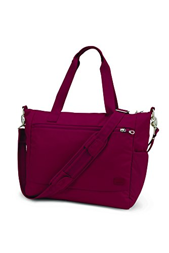 Pacsafe Citysafe CS400 Diebstahlschutz Travel Tote, cranberry (rot) - 20235 (Womens On Carry)