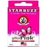 Starbuzz E-HOSE–4cartuchos para e-hoze Sabor Narguile Shisha Pipe-E Agua Electrónica–NO nicotina sin tabaco–Cantidad enorme de vapor. (exótico Rosa)