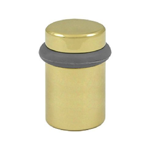 Deltana UFB5000U3 Solid Brass 2-Inch Round Universal Floor Bumper by Deltana