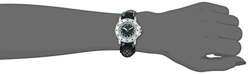 Esprit Jungen-Armbanduhr Savanna Trek Black Analog Quarz Leder ES108334008 - 3