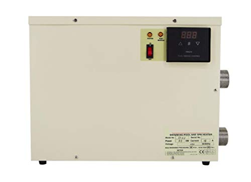 gr-tech Instrument® 5,5kW Wasser Heizung für Swimmingpool und Badewanne 220V-240V/380V-415V