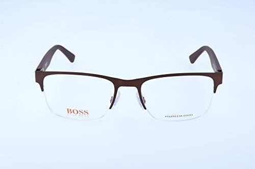 Boss orange bo 0255 q9d 53 occhiali da sole, marrone (bwpttrnornge), uomo