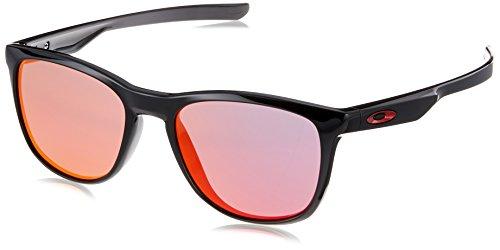 Oakley Herren 0OO9340 Sonnenbrille, Schwarz (Polished Black), 52
