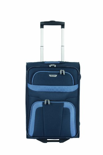 Travelite Orlando Trolley 53 cm + Beauty Case in 3 Farben (Blau) - 2