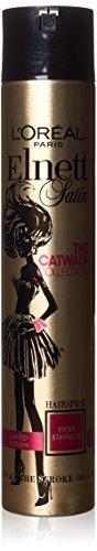 Loreal Elnett Satin (L'Oréal Paris Elnett Satin Limited Edition The Catwalk Collection Hairspray Extra Strength 400ml)