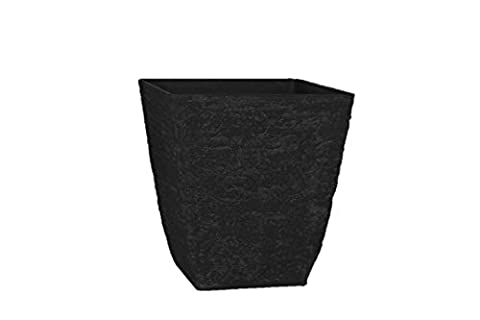 Stone Light Antique AK Series Cast Stone Planter (Pack of 2), 16 by 16.5