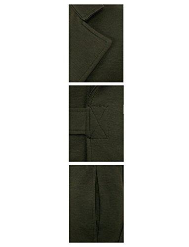 HRYfashion -  Gilet  - Gilet - Basic - Senza maniche  - Uomo Verde
