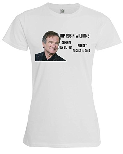 robin-williams-rip-rest-in-peace-tribute-movie-star-damen-weiss-t-shirt-m