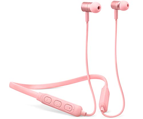 Fresh 'n Rebel Earbuds BAND-IT Cupcake | Bluetooth In-Ear Kopfhörer mit Nackenbügel Band Bluetooth