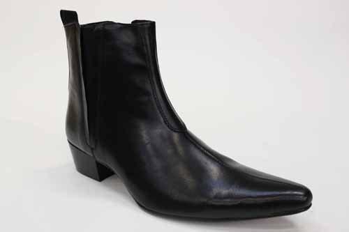 Gucinari , bottes chelsea homme Noir - noir