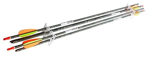 Royalbeach Aluminium Pfeile 29'' Camo, 5 Bogen-Pfeile für Bogensport, Bogenschießen, mit Schraubspitze für Recurvebogen Sportbogen Compoundbogen (Aluminium-compound-bogen-pfeile)