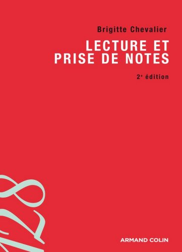 Lecture Et Prise De Notes [Pdf/ePub] eBook