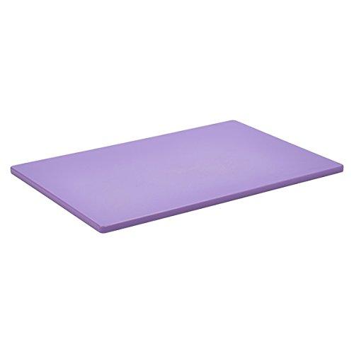 Genware nev-p1812Poly Schneidebrett, 45,7x 30,5x 1,3cm violett Poly Schneidebrett