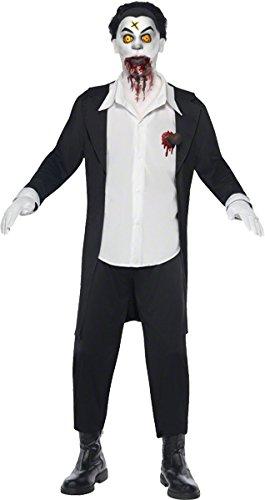 Original Lizenz Living Dead Dolls Haemon Kostüm Geisterkostüm für Herren Dämon erwachte Puppe Halloween Damenkostüm Halloweenkostüm Horror Grusel Gr. (Dead Kostüme Doll)