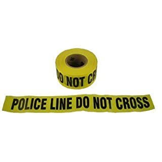 Barrier Tape, Yellow - Police Line by Allsafe Services and Materials