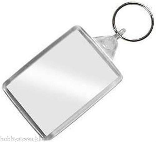 Porta foto-Portachiavi con cornice per foto tascabile, con anello (Portachiavi Portafoto)