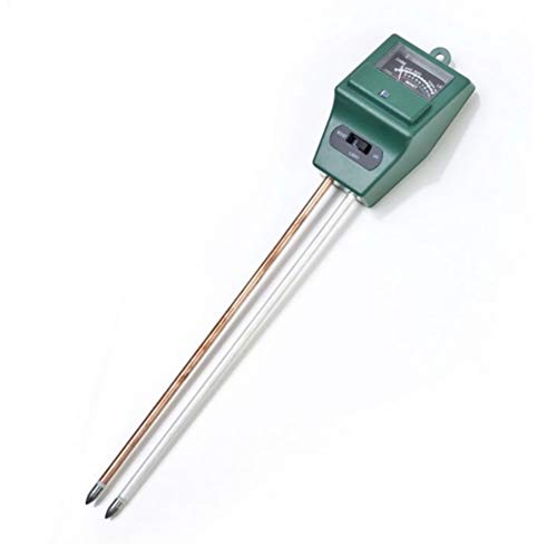 JER Soil Moisture Meter 3-in-1 Moisture Sensor Meter PH Tester Soil Detector Water Moisture Tester for Garden Plant Flower Green