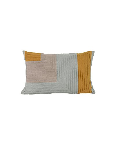 Ferm Living Kissen Angle Knit Curry 40x60cm