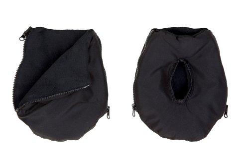 AltaBeBe Polarmuff Protège Mains Chauds Noir