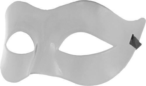 Smartfox Fasching Karneval Venezianische Maske in - Männer Weiße Für Maskerade-masken