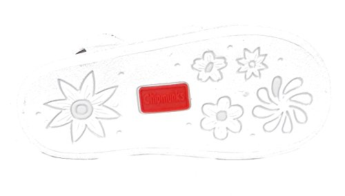 Enfants Garçons Filles Bébés Chipmunks Décontracté Cuir Été Sandales Lanière Velcro Blanc