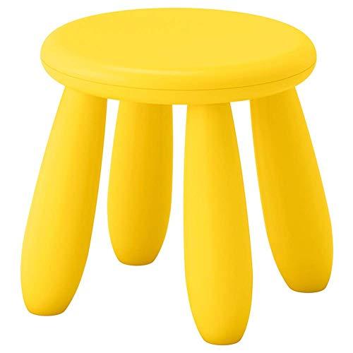 F2 Fußhocker Hocker Fußhocker Tritthocker Arbeitshocker Beauty Roller Hocker Klapphocker Montage Sitzen Essen Kinderhocker Cartoon Small (Farbe: Weiß)