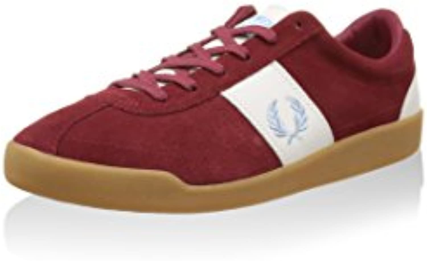 Fred Perry Zapatillas Stockport Burdeos EU 42 (UK 8)