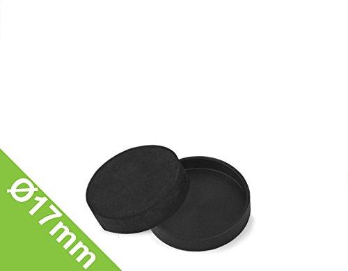 Gummi-Kappe Ø 17 mm, Manschette zum Schutz von Oberflächen (Gummi-kappe)