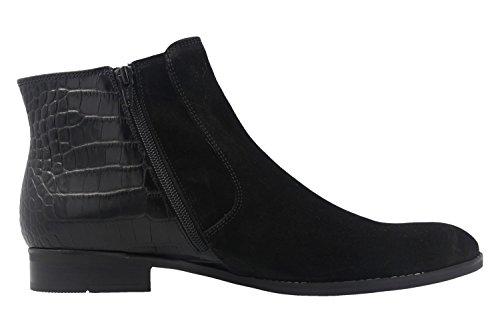 Gabor Damen Fashion Chelsea Boots Schwarz (Schwarz (micro) 10)