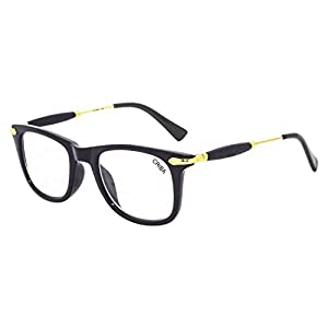Criba Stylish White ARC Sunglass and UV400 International Spectacle Frame