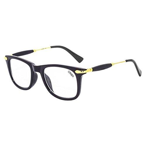 Criba Stylish White ARC Sunglass and UV400 International Spectacle Frame