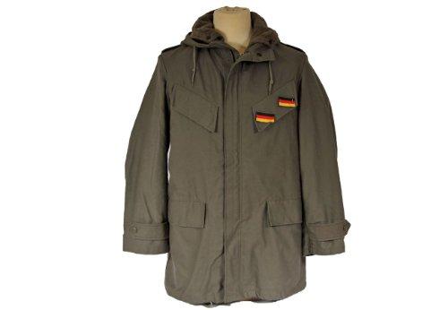 Gr.XL Original BW Parka mit Futter und Abzeichen oliv Bundeswehrparka