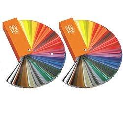 set-di-2-libro-ral-k5-ventaglio-dei-colori-opaco-e-lucido