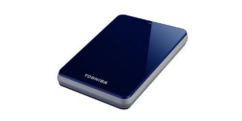 Toshiba HDTC610EL3B1 STOR.E Canvio 1TB externe Festplatte (6,4 cm (2,5 Zoll) USB 3.0) blau