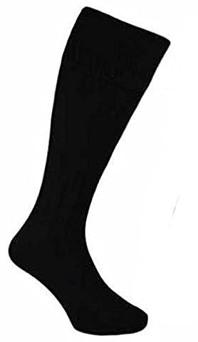 The Express Hats Company - Chaussettes hautes - Homme noir noir 40-45