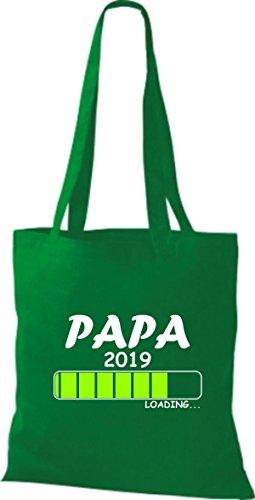 Loading Kelly Stoffbeutel PAPA Baumwolltasche 2019 ShirtInStyle H6E1qH
