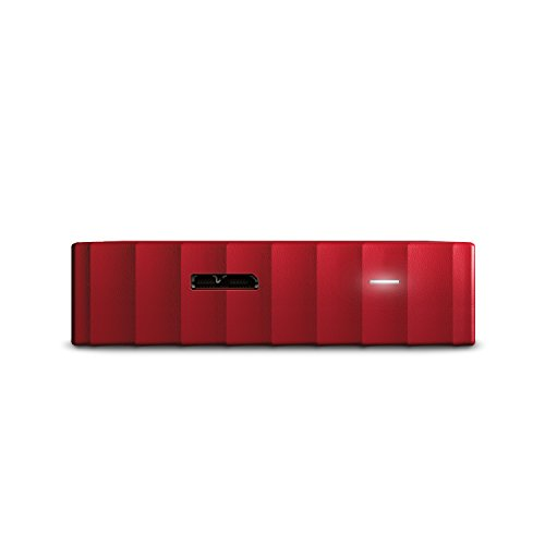 WD My Passport 4 TB Portable Hard Drive for PC, Xbox One and PlayStation 4 - Red