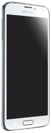 Samsung Galaxy S5 (Shimmery White)