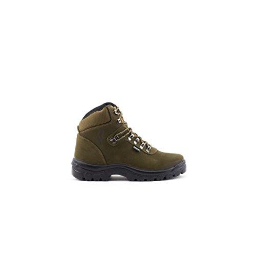 Esscelent Fashion R200974 Stivali Trekking - COLORE - VERDE, TAGLIA - 40