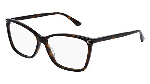 Gucci Gestell 0025O_002 (56 mm) havana
