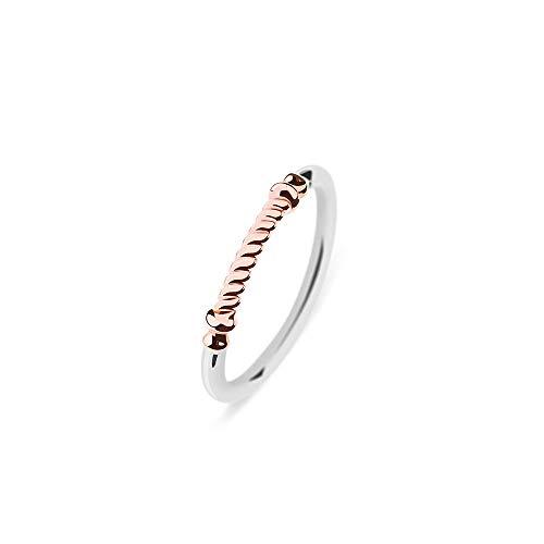 PAUL HEWITT Damen Edelstahl Ring Portside - Damenring Edelstahl, Ring für Damen in Silber und Rosegold