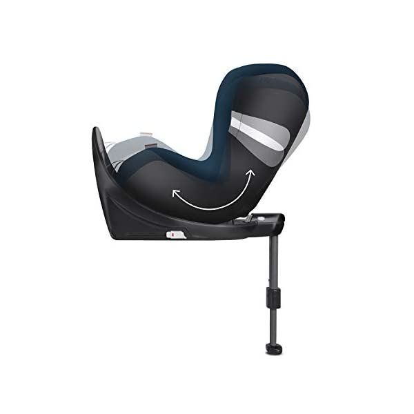 CYBEX Gold Sirona M2 i-Size Car Seat, Incl. Base M, Incl. SensorSafe chest clip, From Birth to approx. 4 years, Up to Max. 105 cm Height, Premium Black  Cybex gold car seat sirona m2 i-size incl. sensorsafe incl. base m Item number: 519001843 Colour: premium black 5