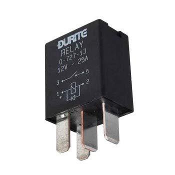 Durite - Relais Micro Make/Break 25 Amp 12 V scellé avec diode CD1-0 - 727-13