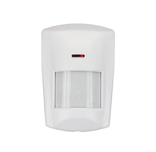LUPUSEC PIR Bewegungsmelder für die XT Smarthome Alarmanlagen, kompatibel mit den XT Funk Alarmanlagen, Zustandsanzeige im Browser oder APP, batteriebetrieben