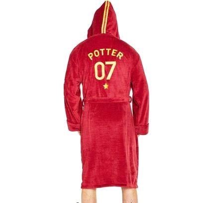 Groovy Harry Potter Quidditch Albornoz Forro Polar